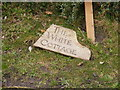 TM4369 : The White Cottage sign by Adrian Cable