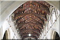 TF4024 : Interior roof, St Mary Magdalene church, Gedney by J.Hannan-Briggs