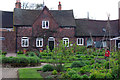 SP0583 : Kitchen garden at Winterbourne by Phil Champion
