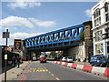 TQ3280 : Railway Bridge over Southwark Street by Stephen Armstrong