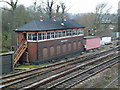 SP4640 : Banbury North Signal Box by Chris Allen