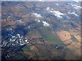 TL8941 : Sudbury from the air by Thomas Nugent