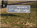 TM4171 : High Lodge sign by Adrian Cable