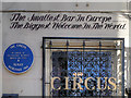 Photo of The Circus, Manchester blue plaque