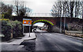 SE4824 : Railway bridge Pontefract Road Ferrybridge by derek dye