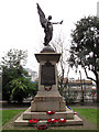 TQ3182 : Finsbury War Memorial by Stephen Craven