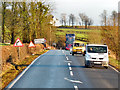 NY0674 : Eastbound A75 approaching Cleughbrae by David Dixon