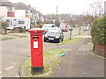 TQ2262 : Ewell - Corner Post Box by Colin Smith