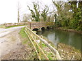 SY7690 : Woodsford, Frome Bridge by Mike Faherty