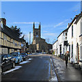 SP5484 : Lutterworth: Church Street : Week 11