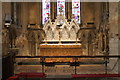SK8943 : Altar and reredos, St Mary's church, Marston by J.Hannan-Briggs