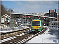 TQ8109 : Train leaving Hastings Station by Oast House Archive