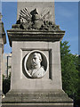 SP0686 : Portrait of Frederick Burnaby, St Philip's churchyard B3 by Robin Stott