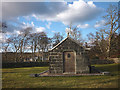 NM5439 : The Macquarie Mausoleum near Gruline, Mull by Karl and Ali