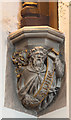 TQ2184 : St Mary, Neasden Lane, Church End - Corbel by John Salmon