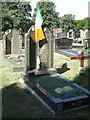 SP0892 : Irish memorials, Witton Cemetery by Robin Stott