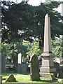 SP0892 : Memorial to John Roberts, Witton Cemetery by Robin Stott