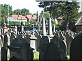 SP0892 : A view of the Jewish Cemetery from Witton Cemetery by Robin Stott