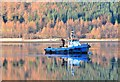 NG9319 : Fishing boat on Loch Duich by Jim Barton