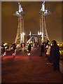 SJ8097 : The Speed of Light Crossing Lowry Bridge by David Dixon