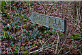 SP0513 : Signpost to the Roman Villa, Chedworth by Christine Matthews