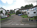 SX9273 : Close off Moor View Drive, Teignmouth by Robin Stott