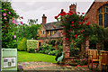 SO8554 : Greyfriars House and Garden Worcester by Gillie Rhodes