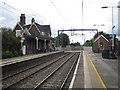 SJ8055 : Alsager railway station by Nigel Thompson