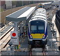 J3271 : Train, Adelaide maintenance depot Belfast by Rossographer