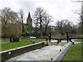 TL1097 : Water Newton Lock by Alan Murray-Rust