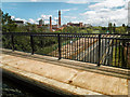 SP0483 : Ariel Aqueduct on the Worcester and Birmingham Canal by Gillie Rhodes