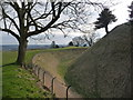 SU1332 : Salisbury: Old Sarum ditch by Chris Downer