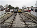 SK2854 : Wirksworth railway station, Derbyshire by Nigel Thompson