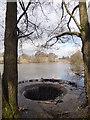 SJ8966 : Reservoir overflow by Bryan Pready