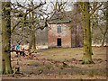 SJ7387 : Dunham Massey Deer Park, Slaughterhouse by David Dixon
