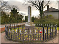 SJ4988 : War Memorial at Cronton by David Dixon