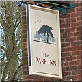 SJ9090 : Sign of the Park Inn by Gerald England