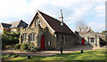 TQ2698 : St Paul, Hadley Wood - Church &amp; Church hall by John Salmon