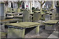 NJ9406 : Table Tombs, St Nicholas Churchyard by Bill Harrison