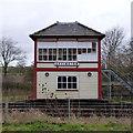 TF0706 : Uffington Signal Box by Alan Murray-Rust