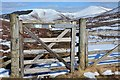 NT1239 : Gate on the John Buchan Way by Jim Barton
