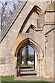 SO9445 : Buttresses on Pershore Abbey by Philip Halling