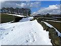 SE0139 : Snow Drifts on Grange Lane by Chris Heaton