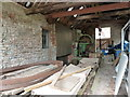 ST5071 : Tyntesfield sawmill by Chris Allen