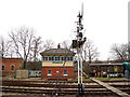 TQ3729 : Horsted Keynes signal box by Stephen Craven