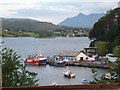 NG4843 : Portree: quay view from Mill Road by Chris Downer