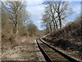 SK2852 : Ecclesbourne Valley railway line by Andrew Hill