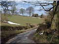 SK2750 : Wirksworth Road from Kirk Ireton by Andrew Hill