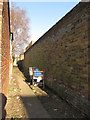 TQ4077 : Alley between Furzefield Road and Hassendean Road by Stephen Craven