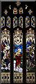 TL5458 : St John, Little Wilbraham - Stained glass window by John Salmon